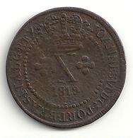 Brézil Brazil X (10) Réis 1819 R John VI - Brésil