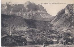 CP - France - (74) Haute Savoie - Servoz Et La Chaîne Des Fiz - France