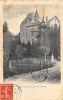 CPA 38  CHATEAU DE ST GEOIRE EN VALDAINE 1908 - Saint-Geoire-en-Valdaine