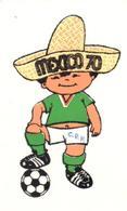 POSTAL     JUANITO -MEXICO 1970- CIUDAD DE MEXICO CAMPEONES MUNDIALES DE FUTBOL - Postales