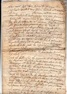 Devis Réparation D'un Maçon Et D'un Menuisier Beauvais 5 Pages 1771 - Documents Historiques