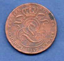 Belgique - 5 Centimes 1842   -  Km# 5.1 -  état  B+ - 1831-1865: Léopold I