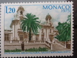 MONACO 1975 Y&T N° 1016 ** - ANNEE EUROPEENNE DU PATRIMOINE ARCHITECTURAL - Nuevos