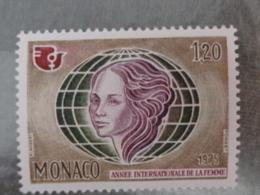 MONACO 1975 Y&T N° 1017 ** - ANNEE INTERN. DE LA FEMME - Monaco