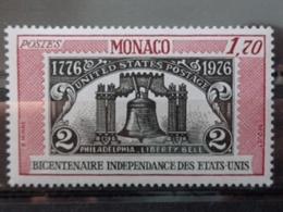 MONACO 1976 Y&T N° 1055 ** - BICENTENAIRE DE L'INDEPENDANCE DES ETATS UNIS - Nuevos