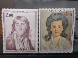 MONACO 1976 Y&T N° 1065 & 1066 ** - PRINCE ET PRINCESSE DE MONACO - Monaco