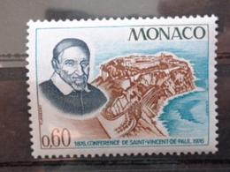 MONACO 1976 Y&T N° 1067 ** - CONFERENCE SAINT VINCENT DE PAUL - Nuevos