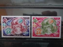 MONACO 1976 Y&T N° 1072 & 1073 ** - NOEL - Nuevos