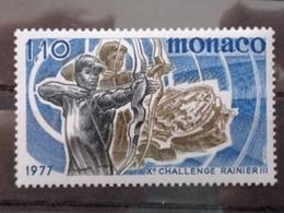 MONACO 1977 Y&T N° 1095 ** - Xe CHALLENGE INTERN. RAINIER III DE TIR A L'ARC - Nuevos