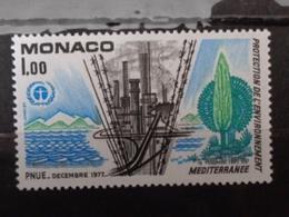 MONACO 1977 Y&T N° 1117 ** - PROTECTION DE L'ENVIRONNEMENT - Nuevos