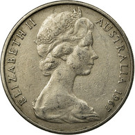 Monnaie, Australie, Elizabeth II, 20 Cents, 1967, Melbourne, TTB, Copper-nickel - Victoria