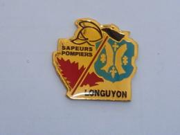 Pin's SAPEURS POMPIERS DE LONGUYON - Pompiers