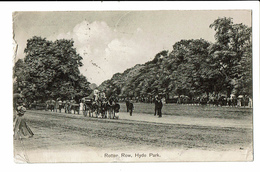CPA - Carte Postale Royaume Uni - London - Hyde Park -,Rollen Row-1910 - S5172 - London