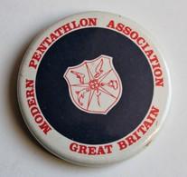 Badge Modern Pentathlon Association Great Britain Sport - Athlétisme
