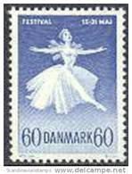 DENEMARKEN 1962 60õre Kopenhagen Festifal Fluorescerend Papier PF-MNH-NEUF - Danemark