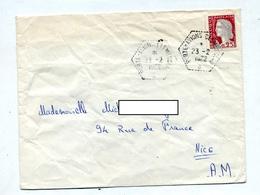 Lettre Cachet Porte Avion Clemenceau - Marcophilie (Lettres)