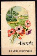 Carte Postale De Loge Fougereuse 85 Vendée Amitiés  Fleurs - France