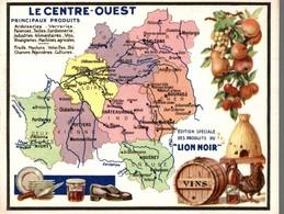 CHROMO PRODUITS DU LION NOIR PARIS-MONTROUGE  LE CENTRE-OUEST - Other