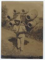 Photo  A. BRIQUET. MEXICO - TIPOS MEXICANOS - Vendedor De OLLAS 1897 - Ancianas (antes De 1900)