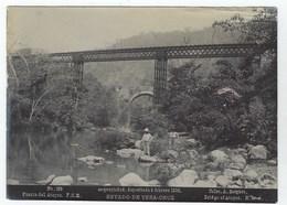 Photo  A. BRIQUET. - ESTADO DE VERA-CRUZ - Puente Del Atoyac - 1896 - Ancianas (antes De 1900)