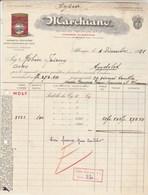 Italie Facture Illustrée 4/12/1931 MARCHIANO Conserve Alimentari Estratto Di  Pomidoro ALBENGA à Robin Foissey Andelot - Italie
