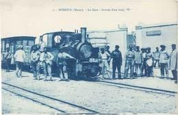 Cpa Afrique – Maroc – Missour – La Gare, Arrivée D'un Train - Maroc