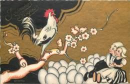 Illustrateur - Chiostri - Arts Nouveau - Ballerini & Fratini - Le Chant Du Coq - Chiostri, Carlo