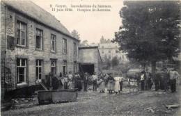 Belgique -  Gesves - Mozet - Goyet - Inondations Du Samson - 11 Juin 1910 - Hospice St-Antoine - Edit Laflotte N° 2 - Gesves