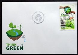 Denmark 2016 EUROPA / CEPT Think Green   Minr.1882-83  FDC  (lot  Ks ) - FDC