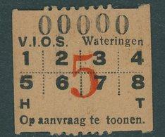 Billete De Wateringen - Transportation Tickets