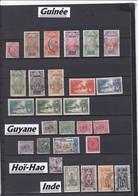 """COLONIES FRANCAISES / GUINEE/GUYANNE/HOI-HAO  / OBLITERATIONS  à Voir- Liquidation Petit Stock à Saisir"""""""""""""""""""""""""""""""""""" - France (ex-colonies & Protectorats)"""