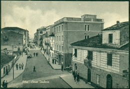 CARTOLINA - SARDEGNA - CV718 OLBIA (OT) Corso Umberto, FG, Viaggiata 196.., Ottime Condizioni - Olbia