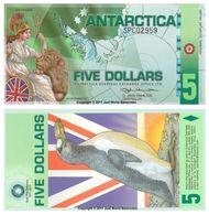 Antartide 5 DOLLARI 2011 Polymer UNC - Non Classés