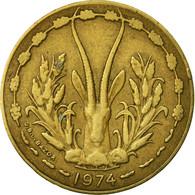 Monnaie, West African States, 10 Francs, 1974, Paris, TB+ - Ivory Coast