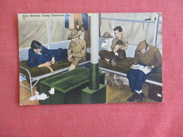 After Retreat  Camp Claiborne La.   Has Paper Rub Left Side    Ref 3139 - War 1939-45