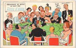 Jeux - Casino - Carte - Illustrateur Jean De Reissac - Cartes à Jouer