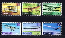 ANGUILLA    1979    History  Of  Powered  Flight    Set  Of  6    MNH - Anguilla (1968-...)