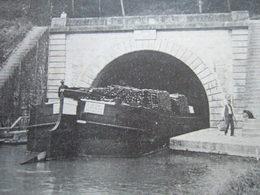51 - LE CANAL A BILLY - ENTREE DU TUNNEL - ENVIRONS DU CAMP DE CHALONS - - Vitry-le-François