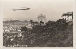 Brazil  Zeppelin Over  Rio De Janeiro  RP   Br408 - Rio De Janeiro