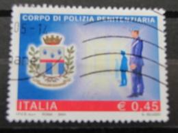 *ITALIA* USATI 2004 - CORPO POLIZIA PENITENZIARIA - SASSONE 2771 - LUSSO/FIOR DI STAMPA - 6. 1946-.. Repubblica