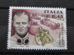 *ITALIA* USATI 2004 - CENTENARIO ACHILLE VARZI - SASSONE 2770 - LUSSO/FIOR DI STAMPA - 6. 1946-.. Repubblica