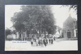 Cpa/pk Niel St- Elisabeth's Plein - Niel
