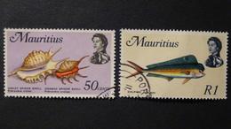 Mauritius - 1969 - Mi:MU 342,345, Sn:MU 350,353, Yt:MU 340,343 O - Look Scan - Mauritius (1968-...)