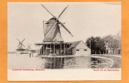 Zaanstreek Netherlands 1900 Postcard - Sonstige
