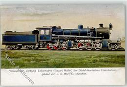 52207884 - Viercylinder-Verbund-Lokomotive (Bauart Mallet) D. Suedafrikanischen Eisenbahnen - J. A. Maffei, Muenchen - Chemins De Fer