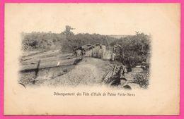 Afrique - Porto Novo - Débarquement Des Fûts D'Huile De Palme - Benin