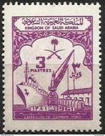 Saudi Arabia - 1961 Dammam Port 3p MNH **   Sc 243 - Saudi Arabia