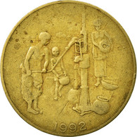 Monnaie, West African States, 10 Francs, 1992, Paris, TB+, Aluminum-Bronze - Ivory Coast