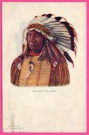 Cp Gaufrée - Chief Red Cloud - Indien - Tribu - By H.H. TAMMEN - Embossed - Indiens De L'Amerique Du Nord
