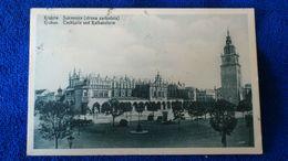 Krakau Tuchhalle Und Rathausturm Poland - Polonia
